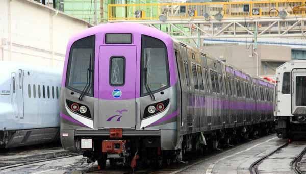 捷運紫色線 今起開通收費