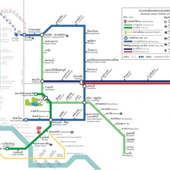 曼谷-市郊輕軌線 4年內開通服務