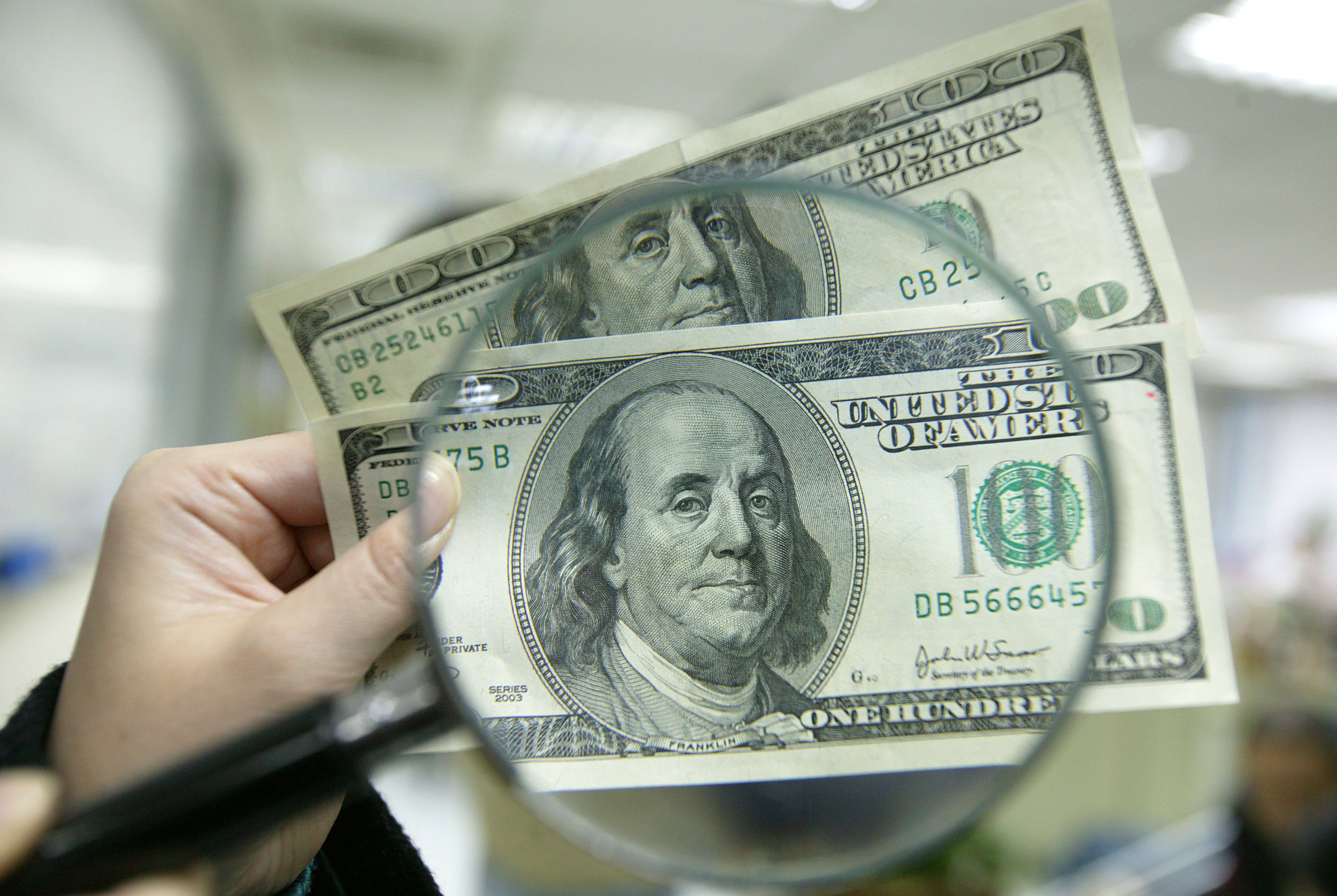 3旧版美钞 汇丰全面停收