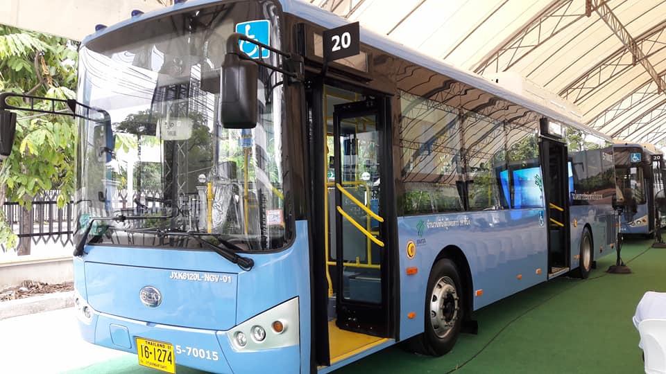 百輛新NGV公車 今投放曼谷載客