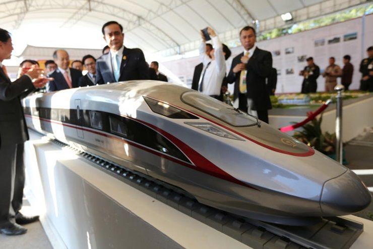 540億泰中高鐵項目 中企中標