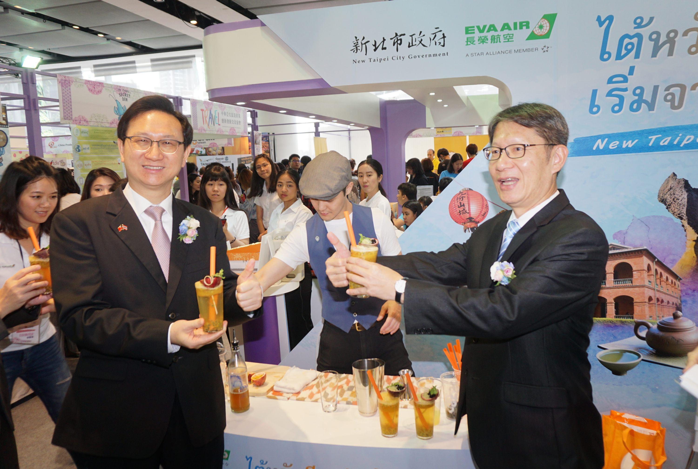 曼谷推廣台灣觀光 迴響熱烈