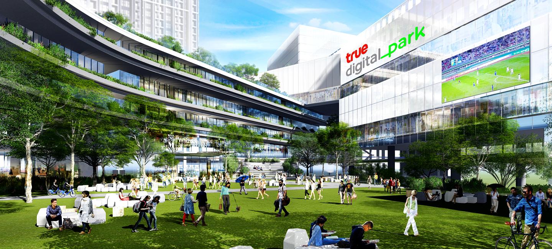 助泰國4.0 True擲15億建數位園區