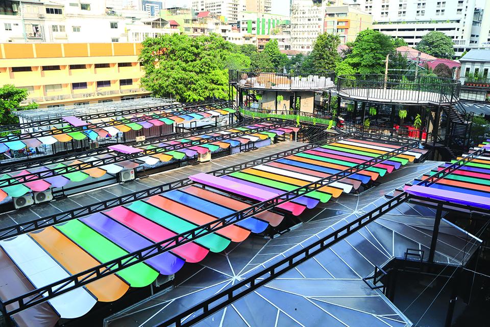 曼谷最新夜市 P15 Market 展現風格